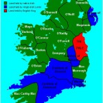 land holdings in Ireland circa 1450
